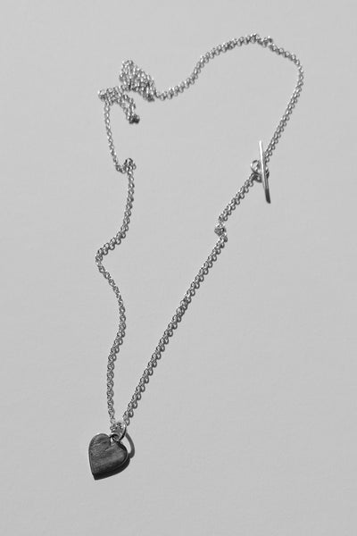 Silver Heart necklace no1
