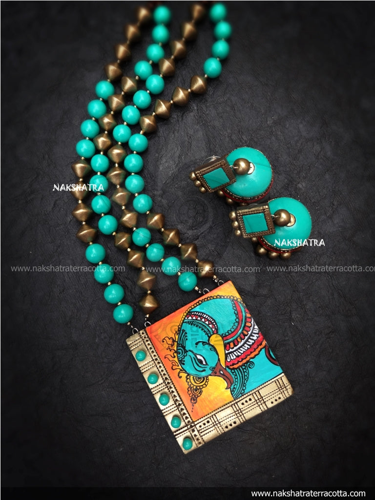 Terracotta jewellery online sale – Nakshatra Terracotta Jewellery