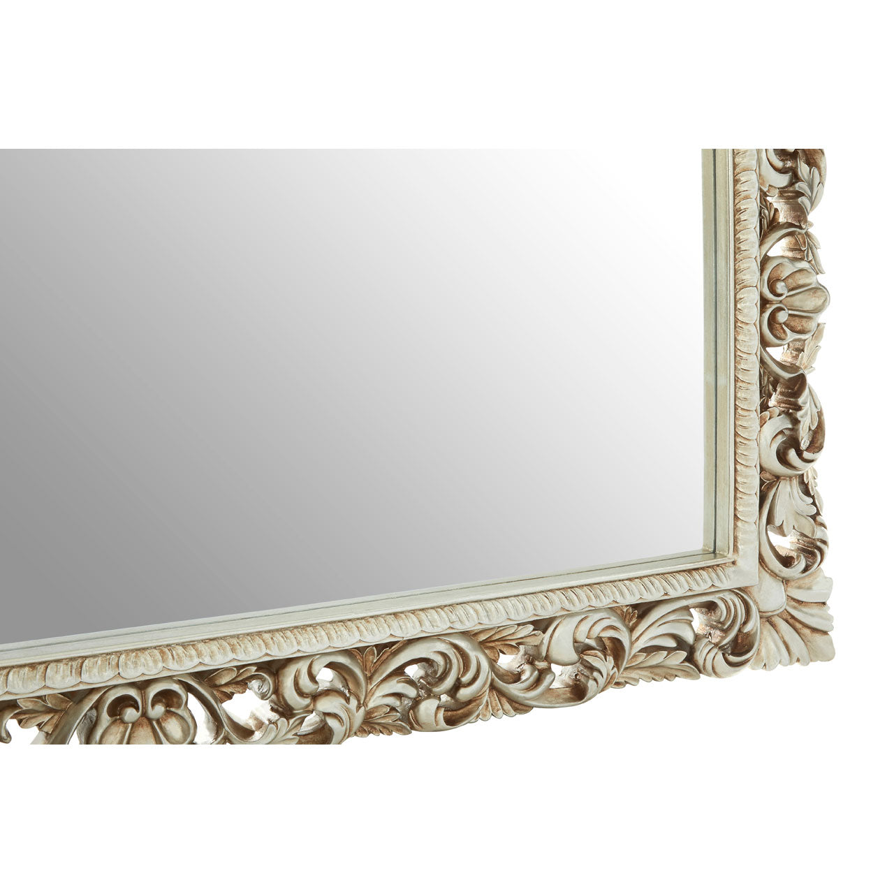 Marseille Rectangular Wall Mirror Champagne