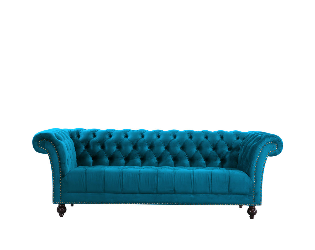 Aldford 3 Seater Sofa in Blue - Ezzo