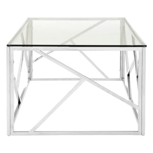 Allure Coffee Table Stainless Steel - Ezzo