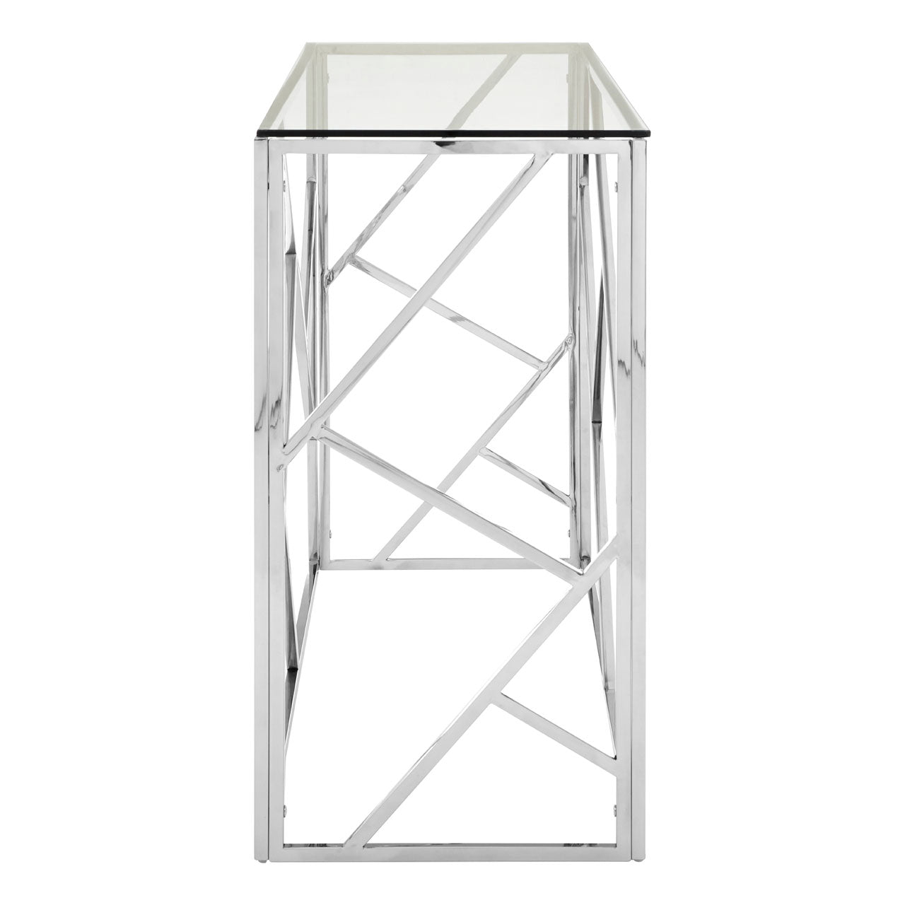 Allure Console Table Stainless Steel - Ezzo