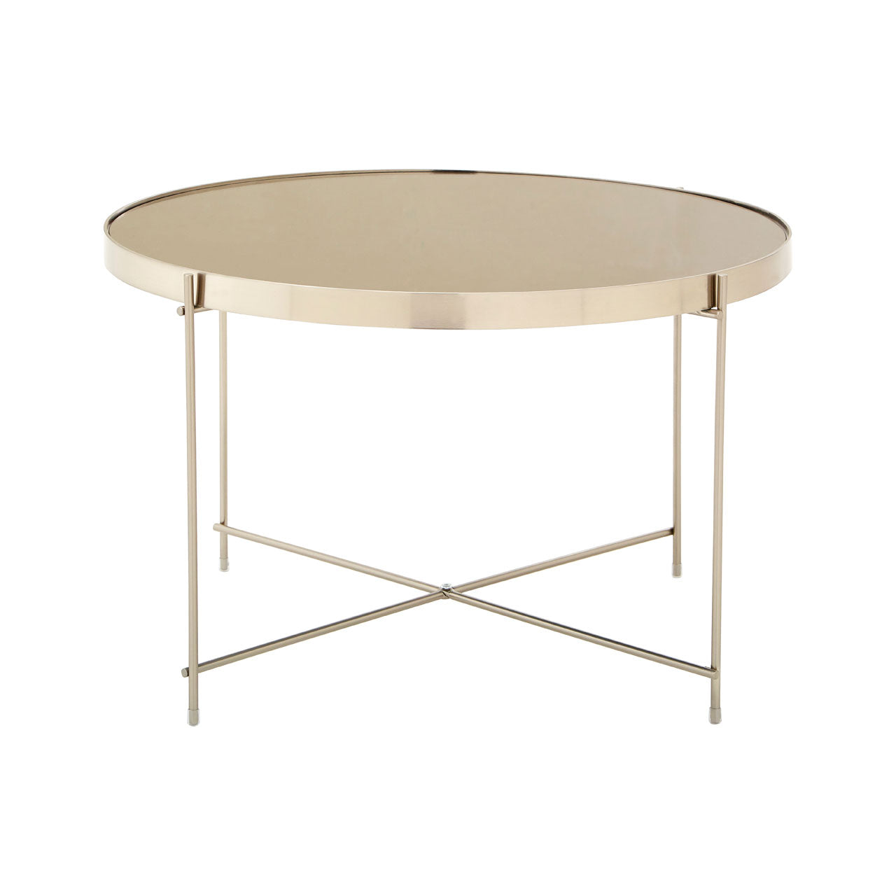 Allure Side Table Nickel - Ezzo