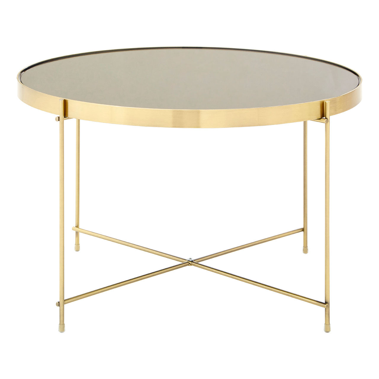 Allure Low Side Table Bronze - Ezzo