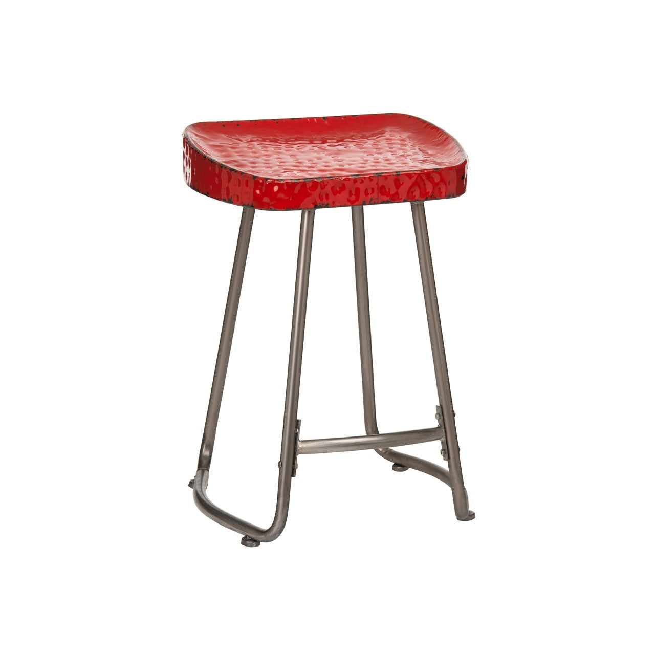 Artisan Stool Red - Ezzo