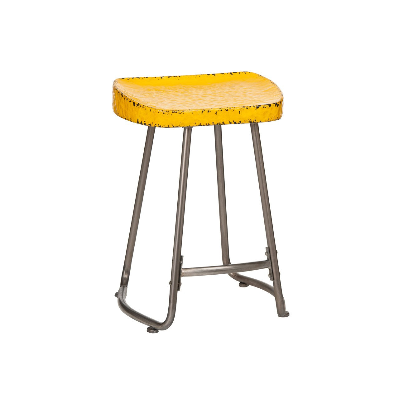 Artisan Stool Yellow - Ezzo
