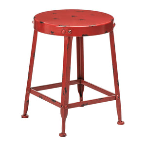 Artisan Dining Stool in Red - Ezzo
