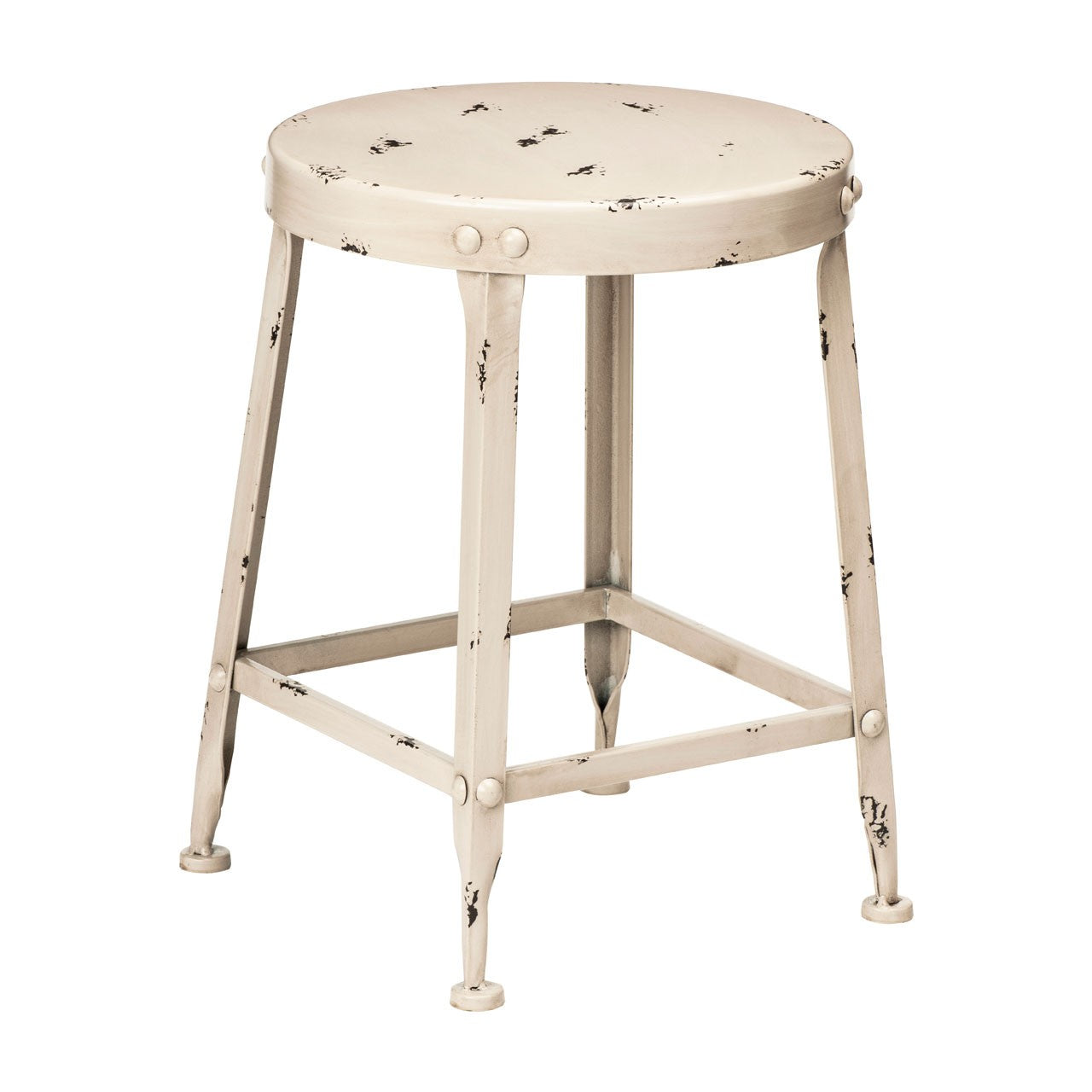 Artisan Dining Stool in Cream - Ezzo
