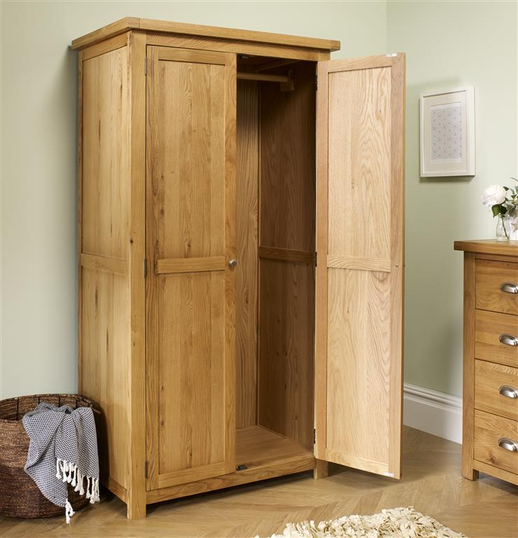 Aspley 2 Door Wardrobe - Ezzo