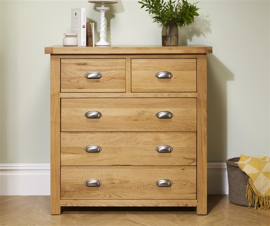 Aspley 5 Drawer Chest - Ezzo