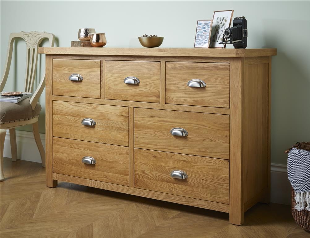 Aspley 7 Drawer Chest - Ezzo