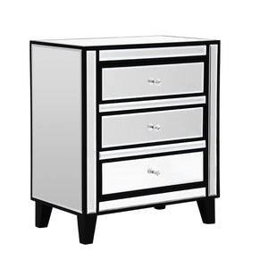 Boulevard 3 Drawer Chest - Ezzo
