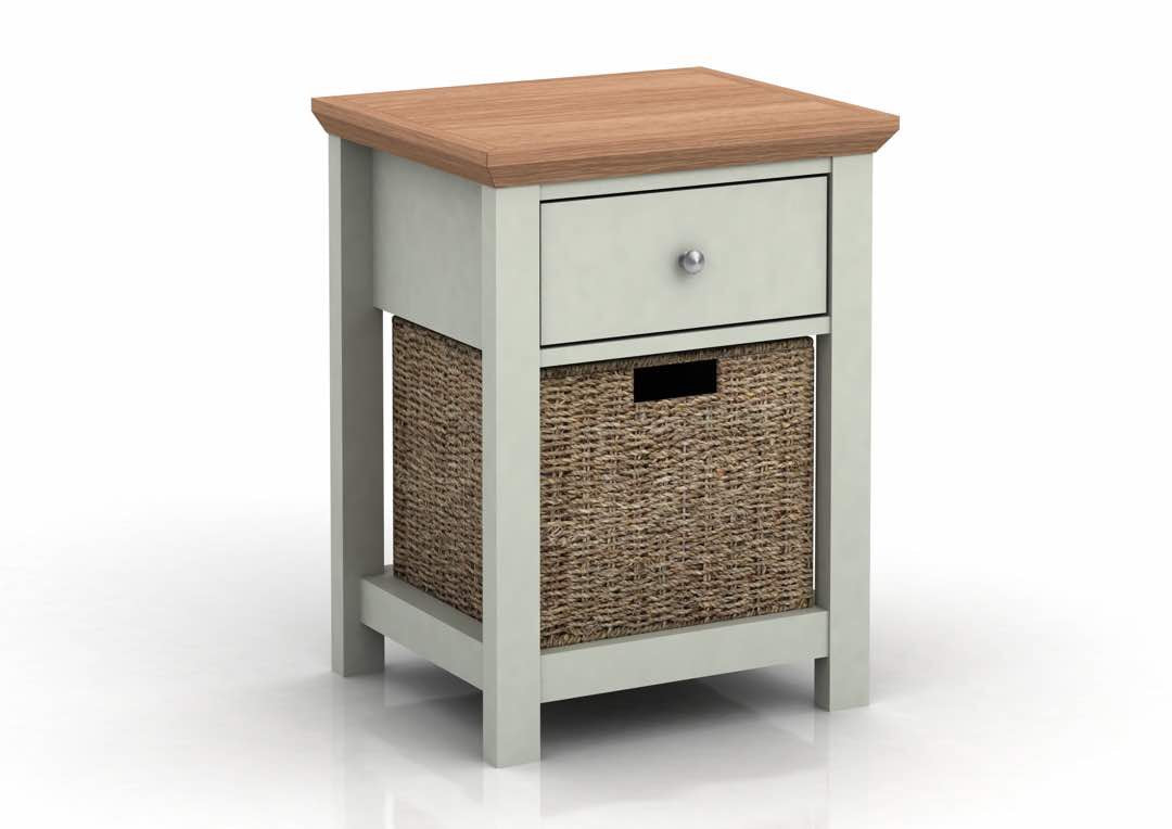 Broadwell Side Table in Grey - Ezzo