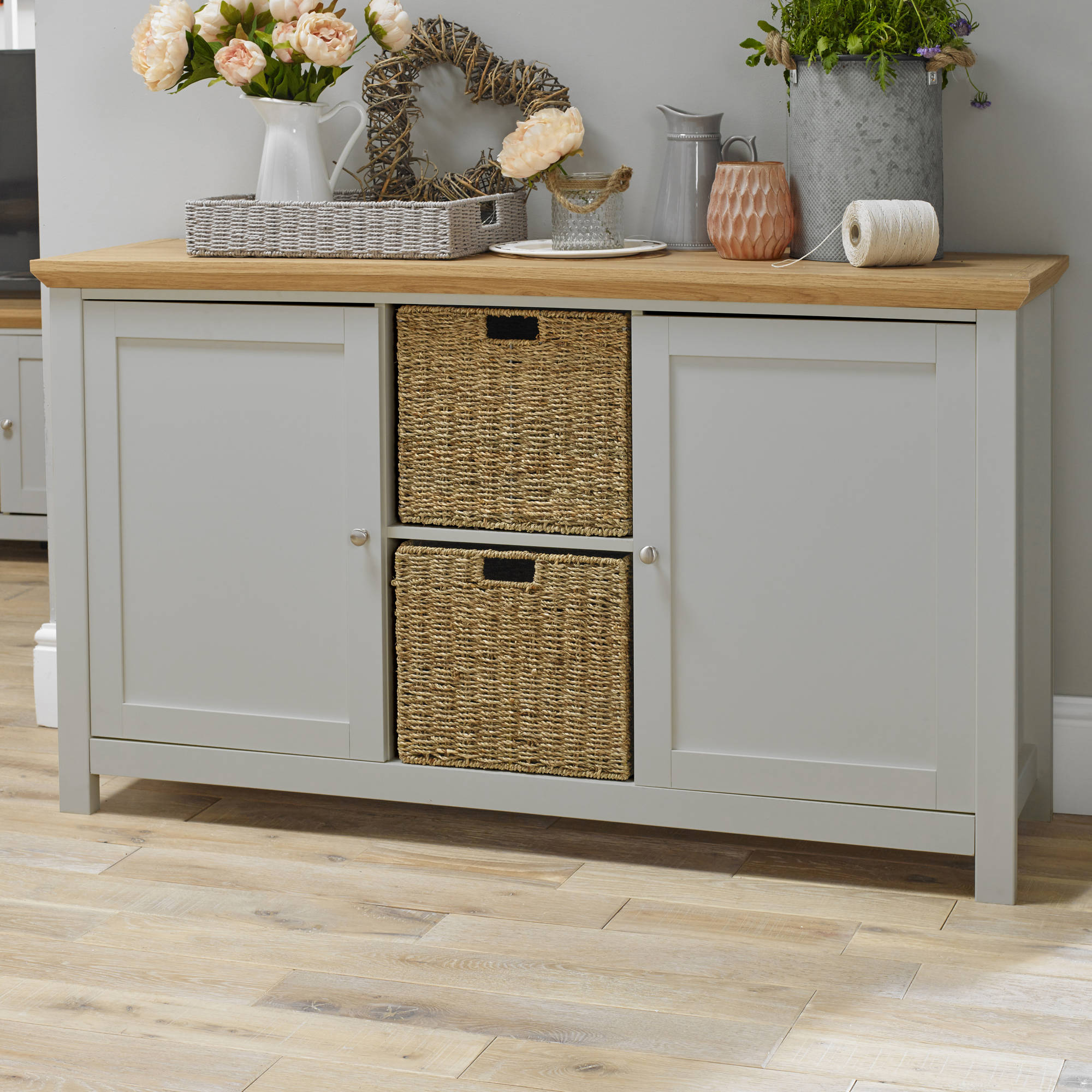 Broadwell Sideboard in Grey - Ezzo