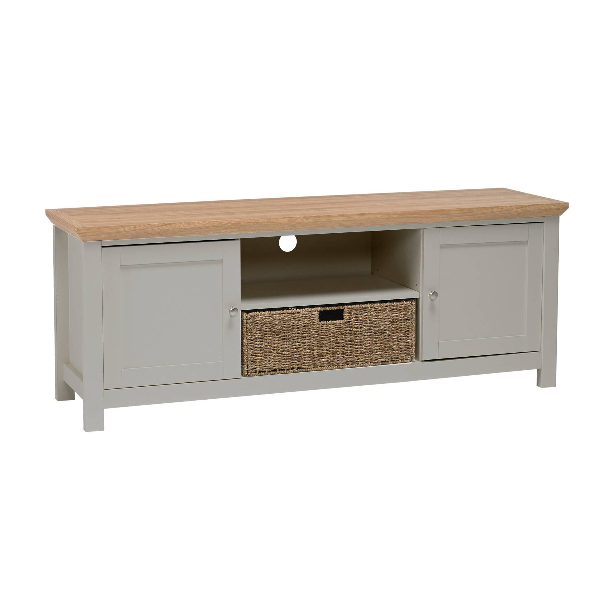 Broadwell TV Unit in Grey - Ezzo