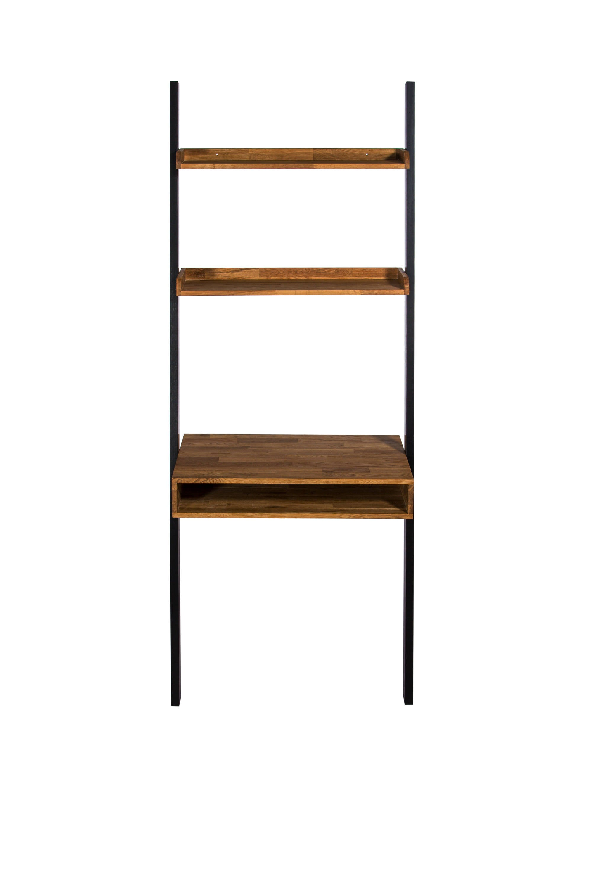 Brondby Ladder Shelf with Desk - Ezzo