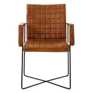 Buffalo Weave Chair Brown - Ezzo