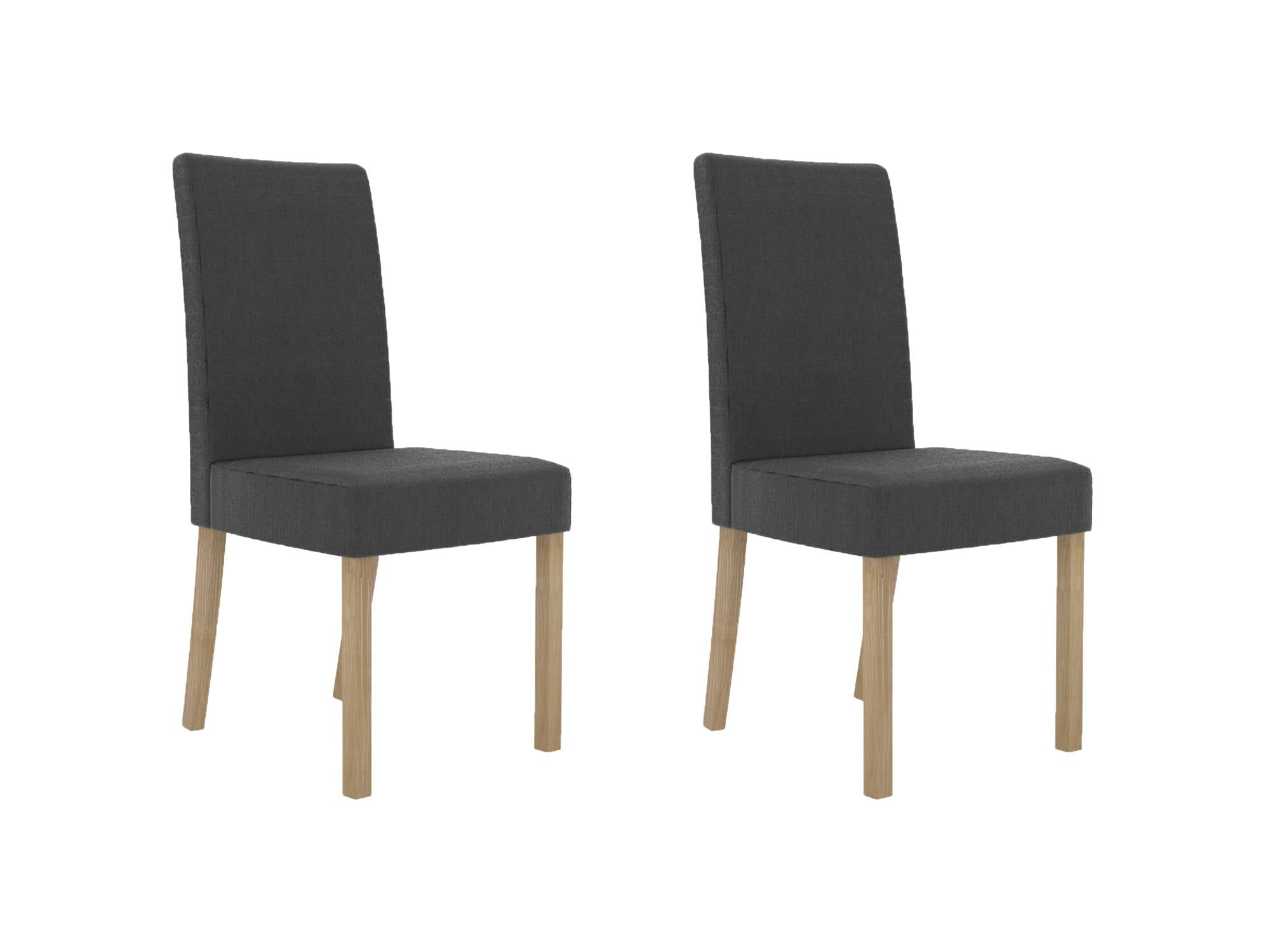 Carillon Dining Chairs in Dark Charcoal - Ezzo