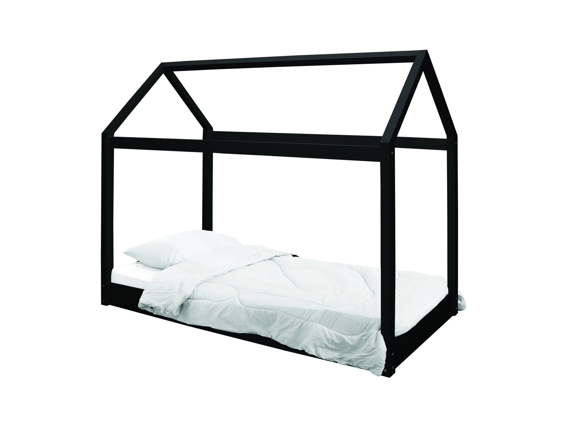 Casa Bed in Black - Ezzo