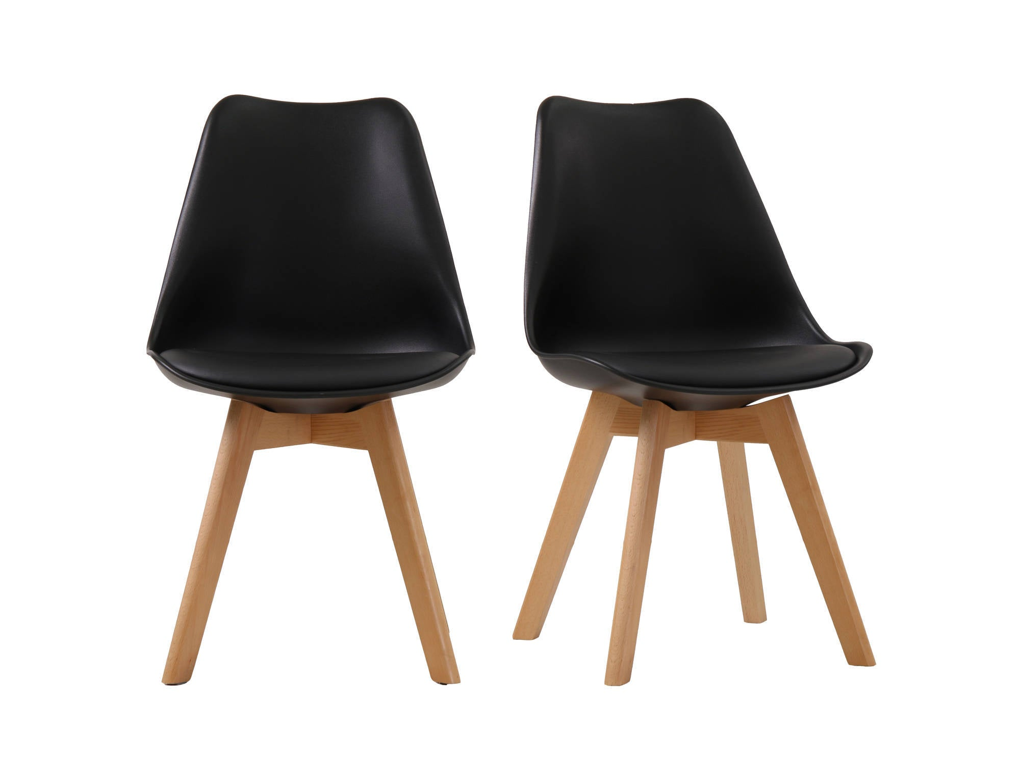 Cesaire Dining Chair in Black - Ezzo