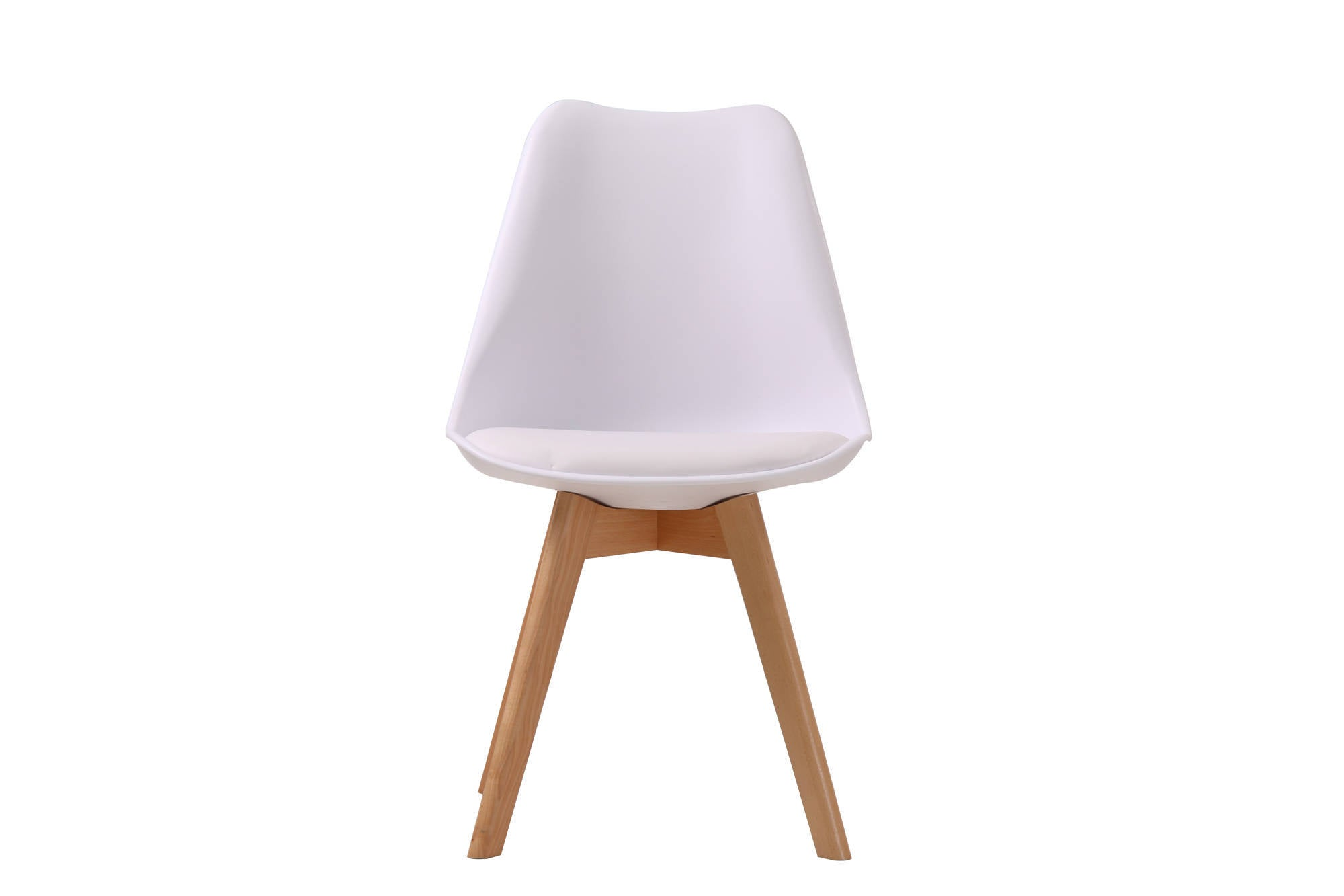 Cesaire Dining Chair in White - Ezzo