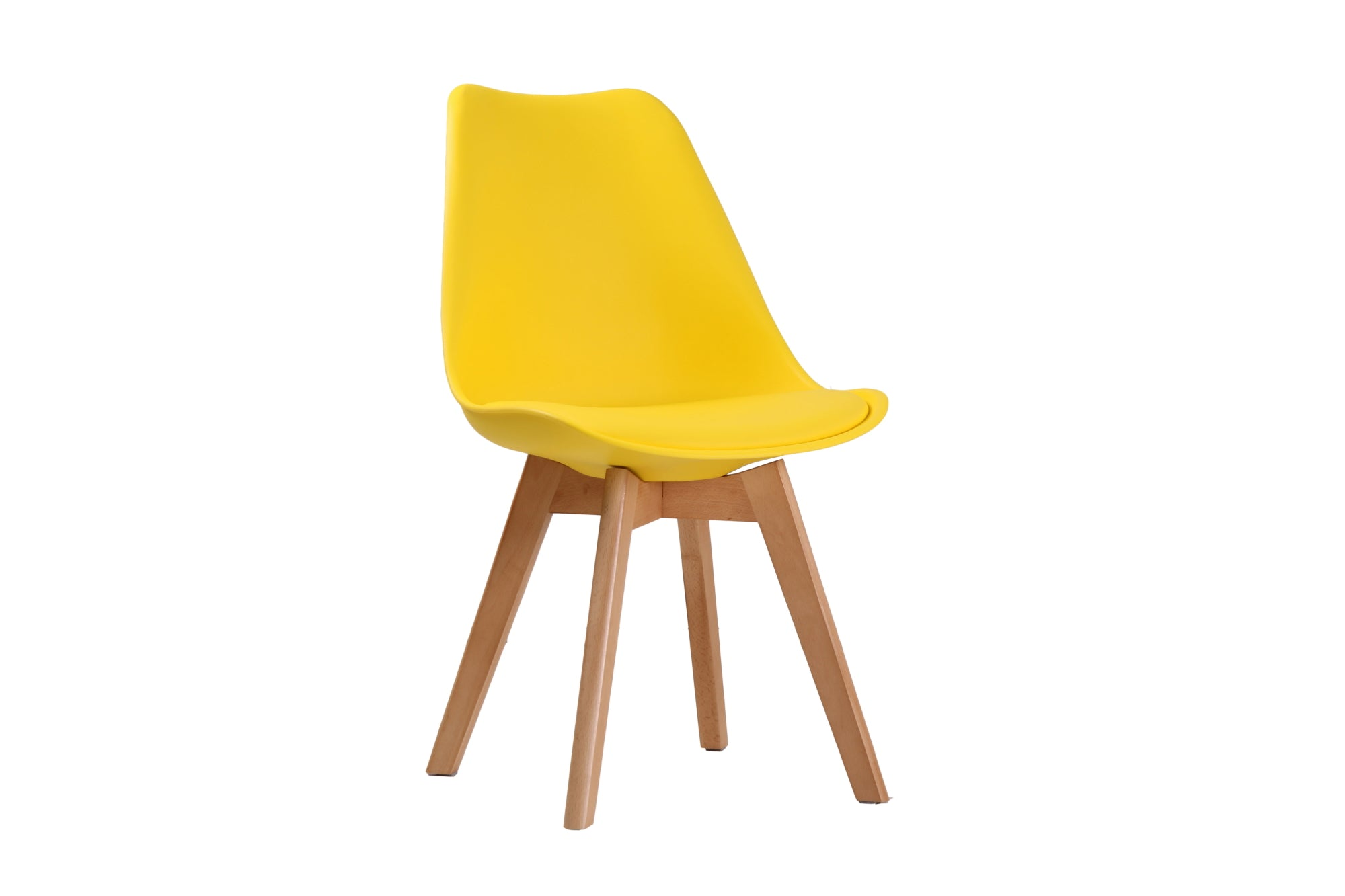 Cesaire Dining Chair in Yellow - Ezzo