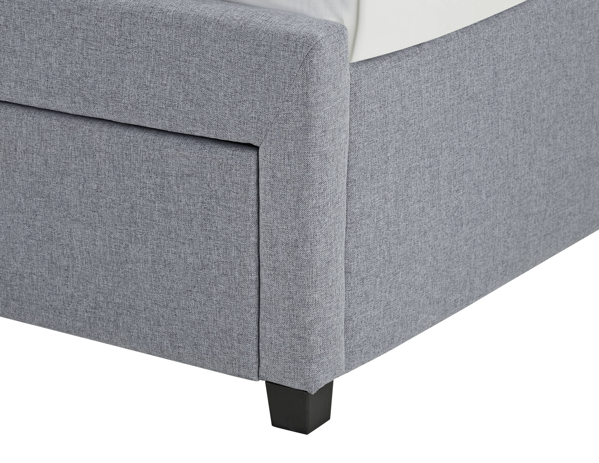 Charlton Double Bed in Grey - Ezzo