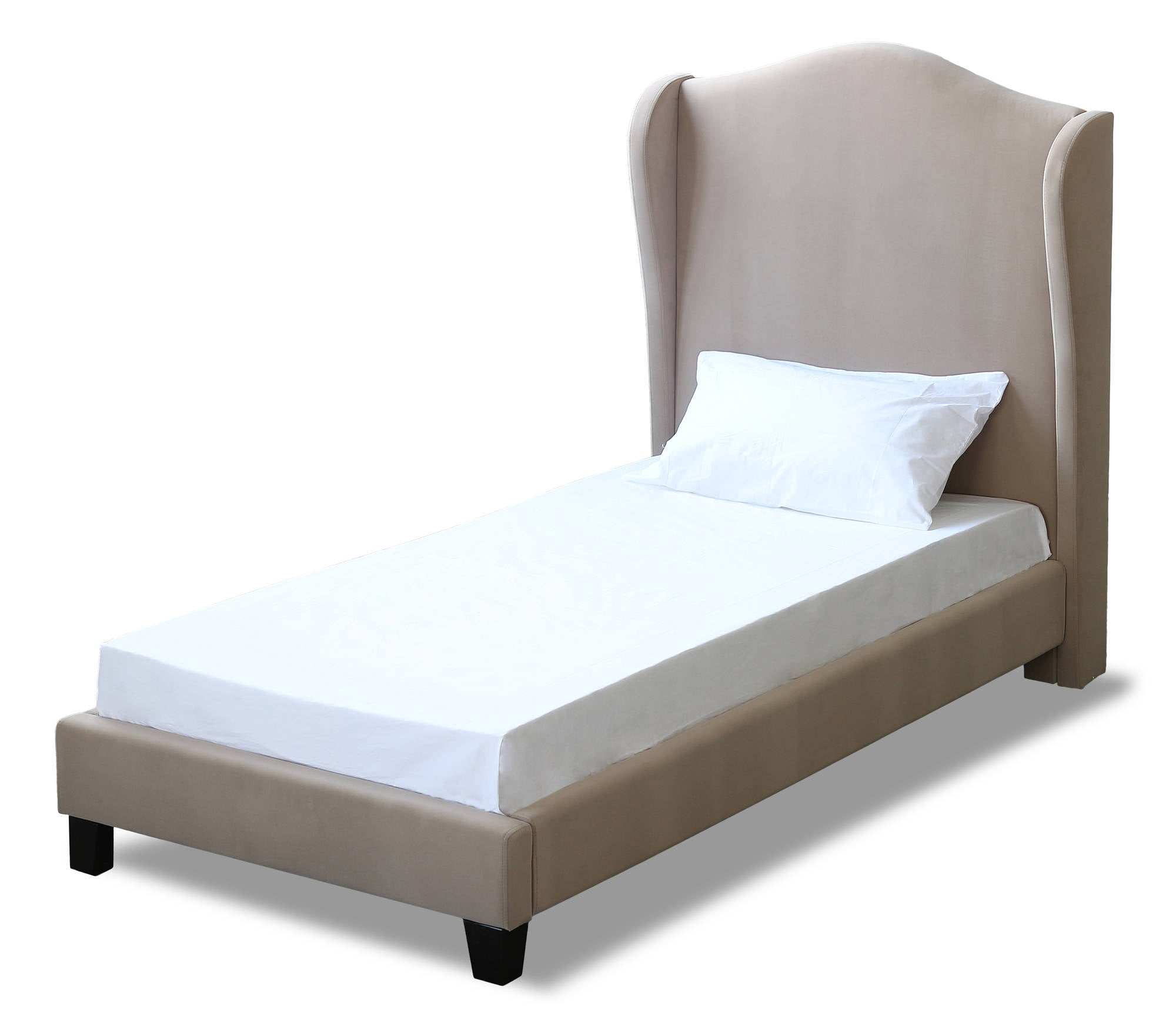 Cheverny Single Bed in Beige - Ezzo