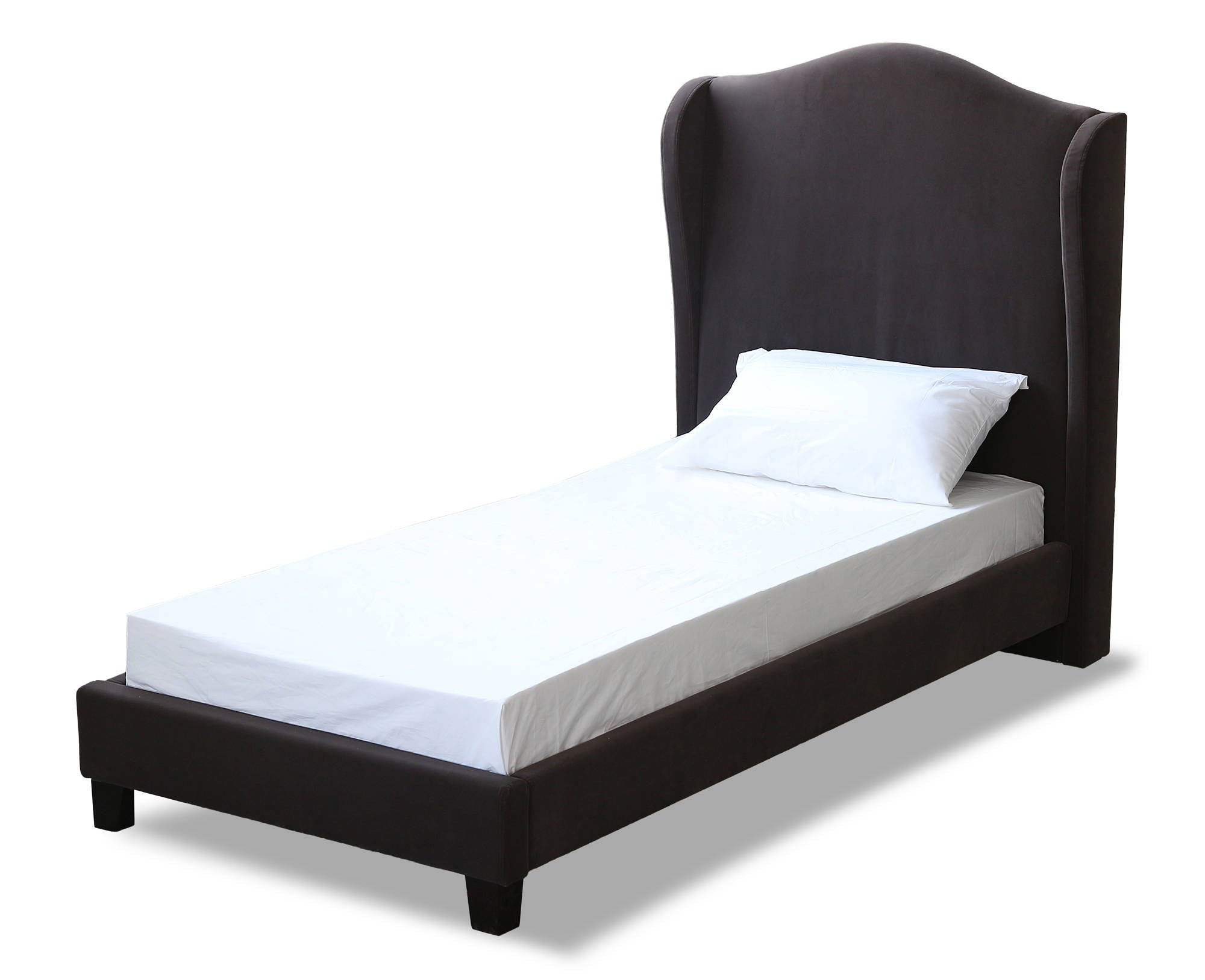 Cheverny Single Bed in Charcoal - Ezzo