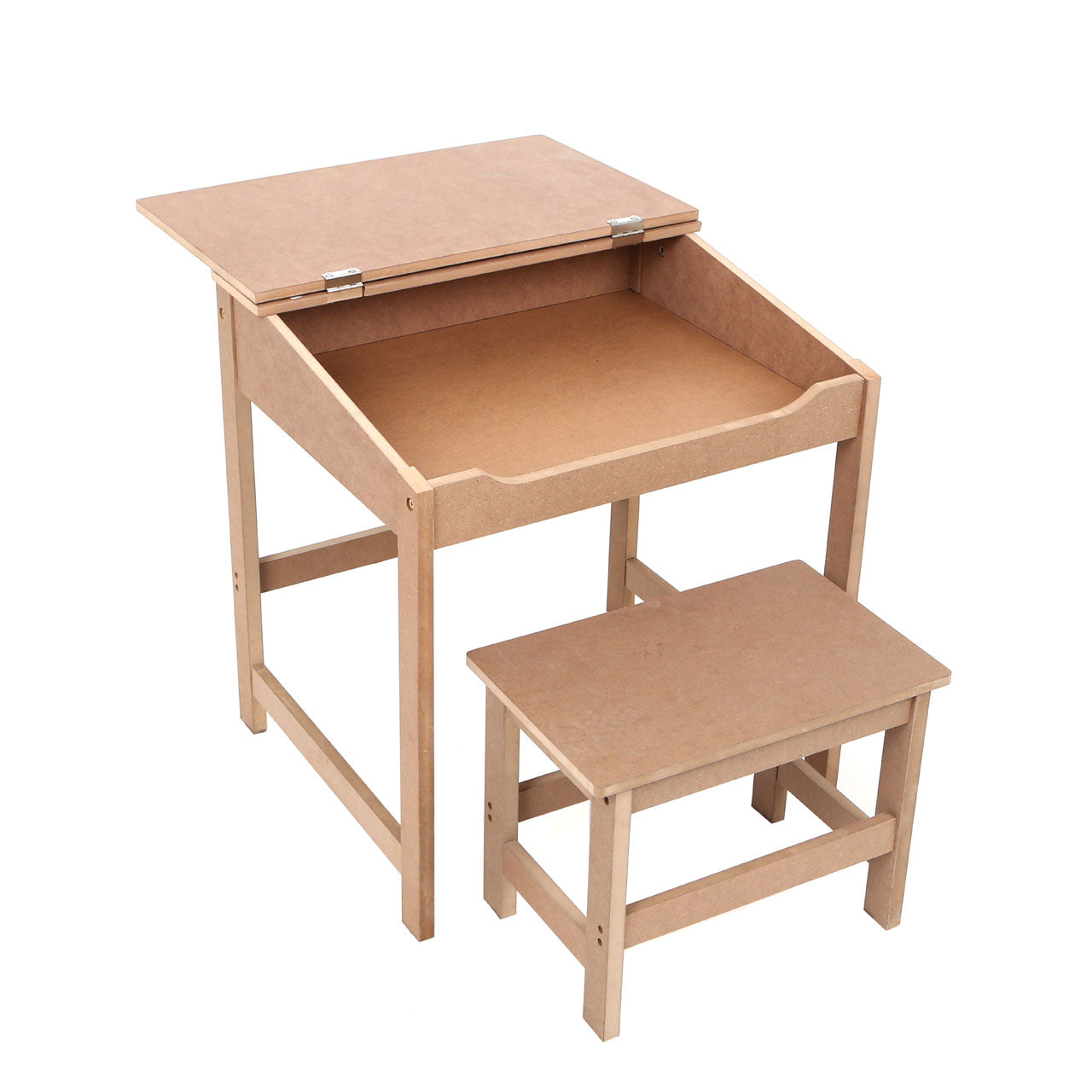 Children's Desk And Stool - Ezzo