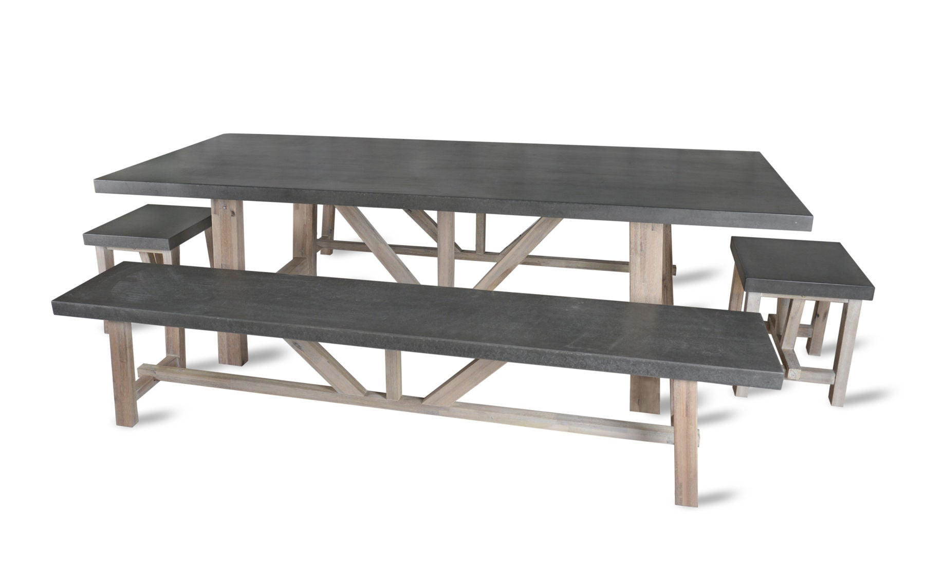 Terrific Charlbury Large Table And Bench Set Gamerscity Chair Design For Home Gamerscityorg