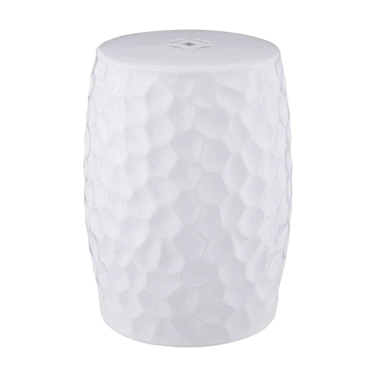 Complements Ceramic Stool in White - Ezzo