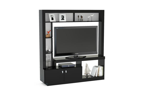 Cortez Entertainment Unit in Black - Ezzo