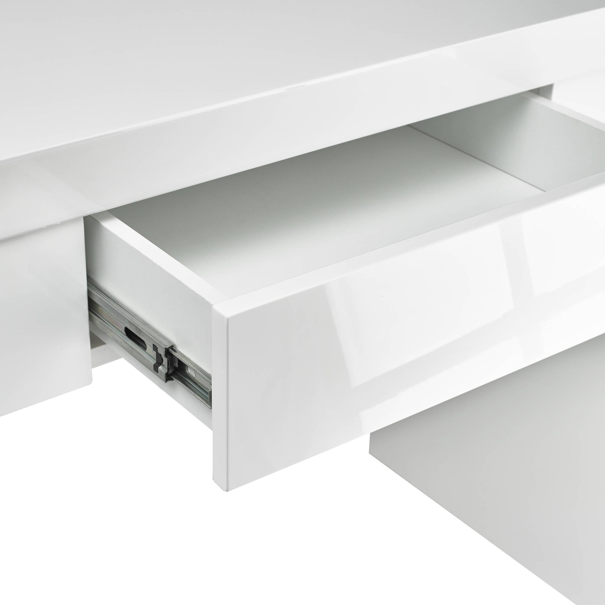 Cuba Console Table in White - Ezzo