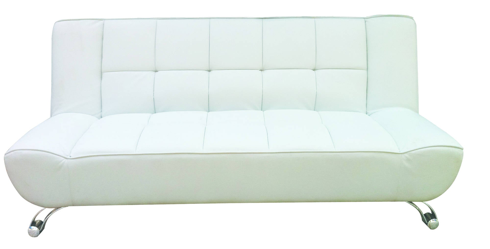 Dernier Sofa Bed in White - Ezzo