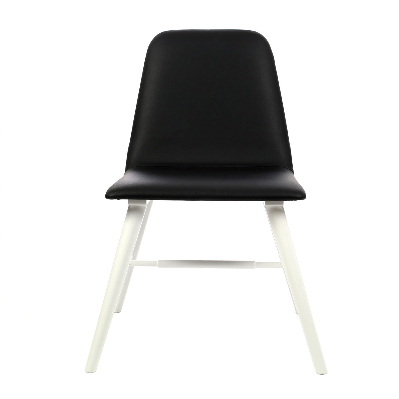 Dining Chair in Black and White - Ezzo