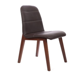 Dining Chair in Chocolate - Ezzo