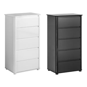 Drawer Chest in Black - Ezzo