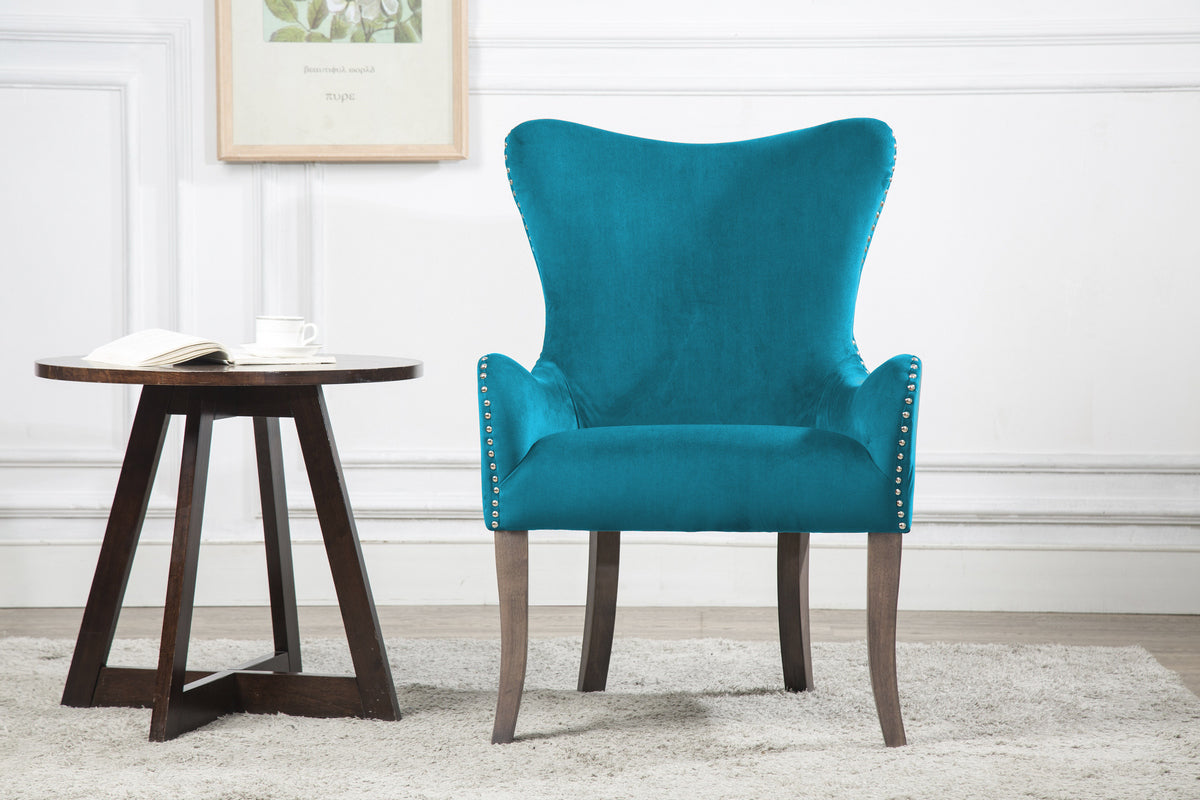 Elise Chair in Blue