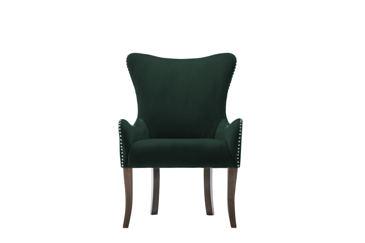 Elise Chair in Green - Ezzo