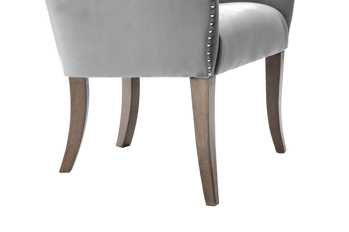 Elise Chair in Grey - Ezzo
