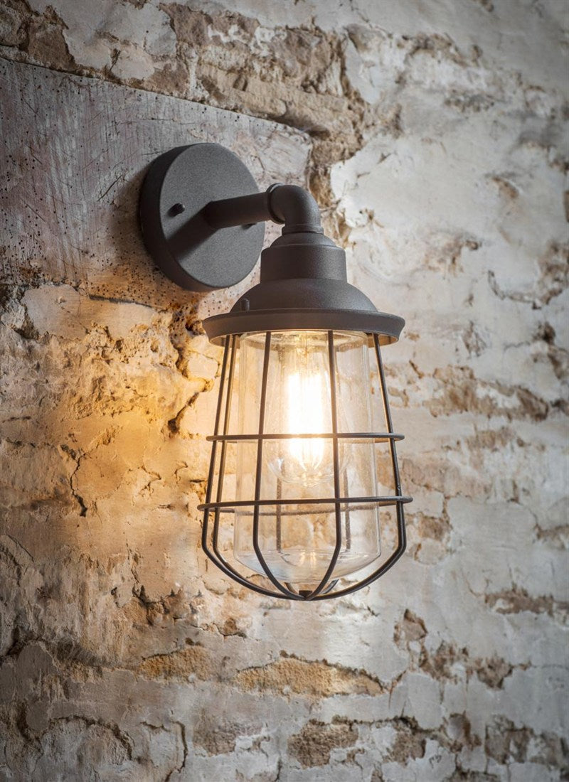 Finsbury Wall Light in Charcoal - Ezzo