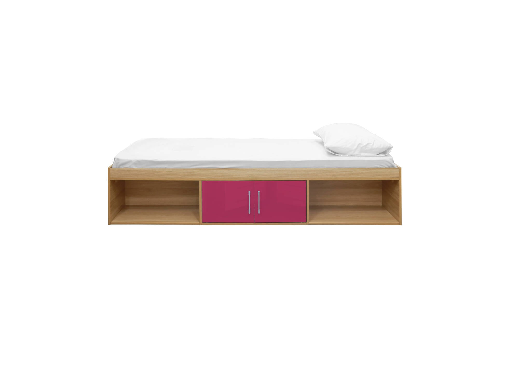 Franklin Cabin Bed in Dark Pink - Ezzo