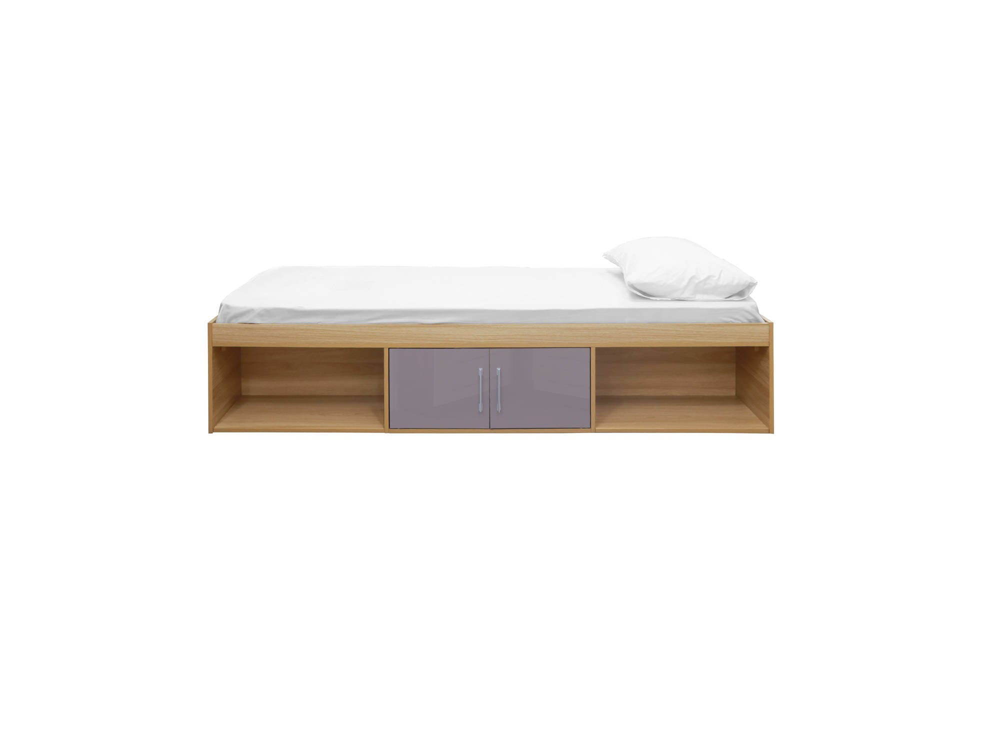 Franklin Cabin Bed in Taupe Grey - Ezzo