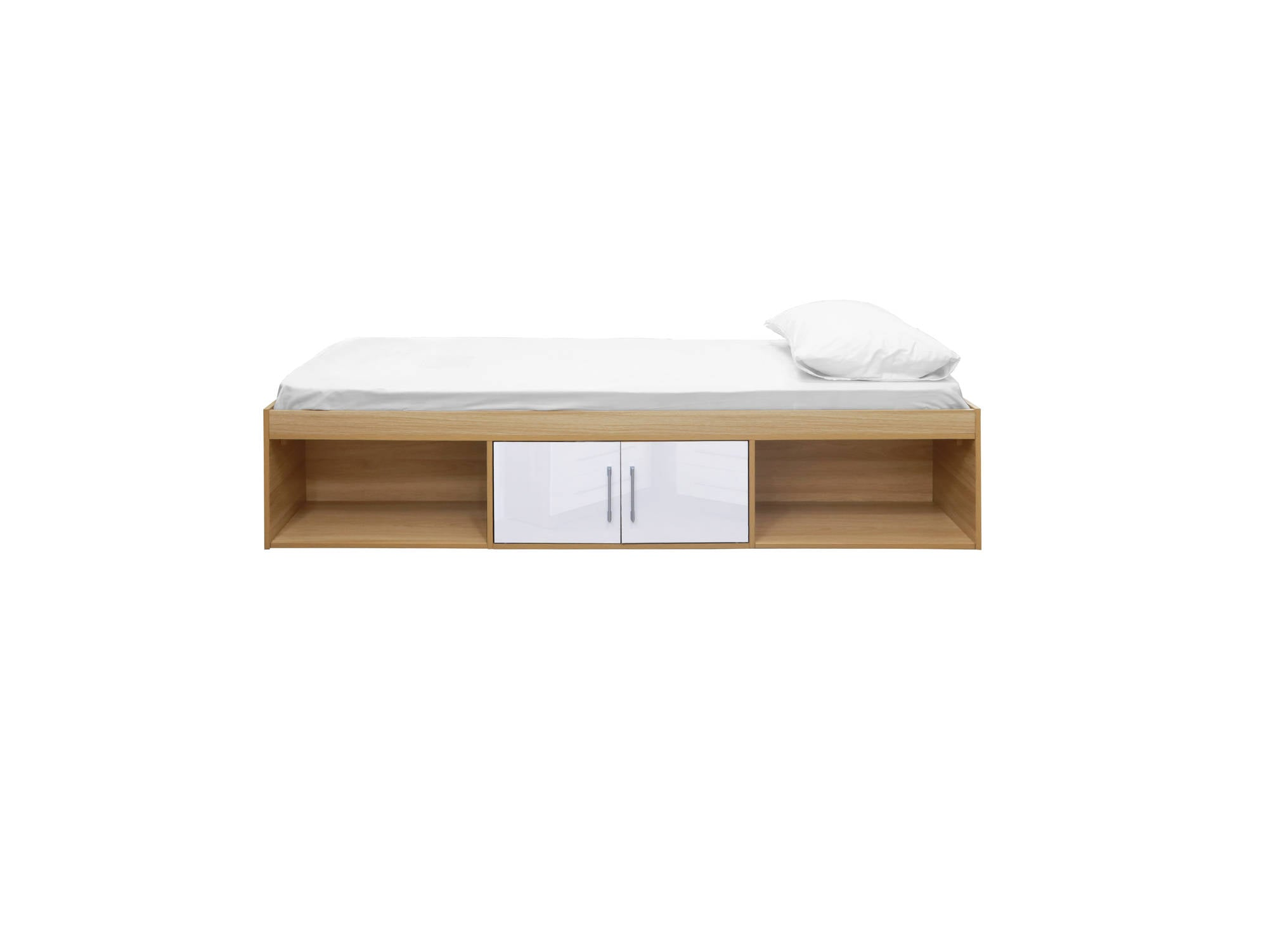 Franklin Cabin Bed in White