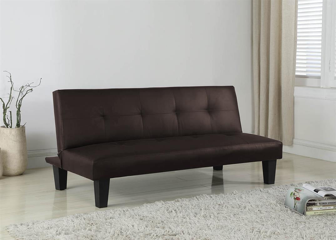 Freeman Sofa Bed in Brown - Ezzo