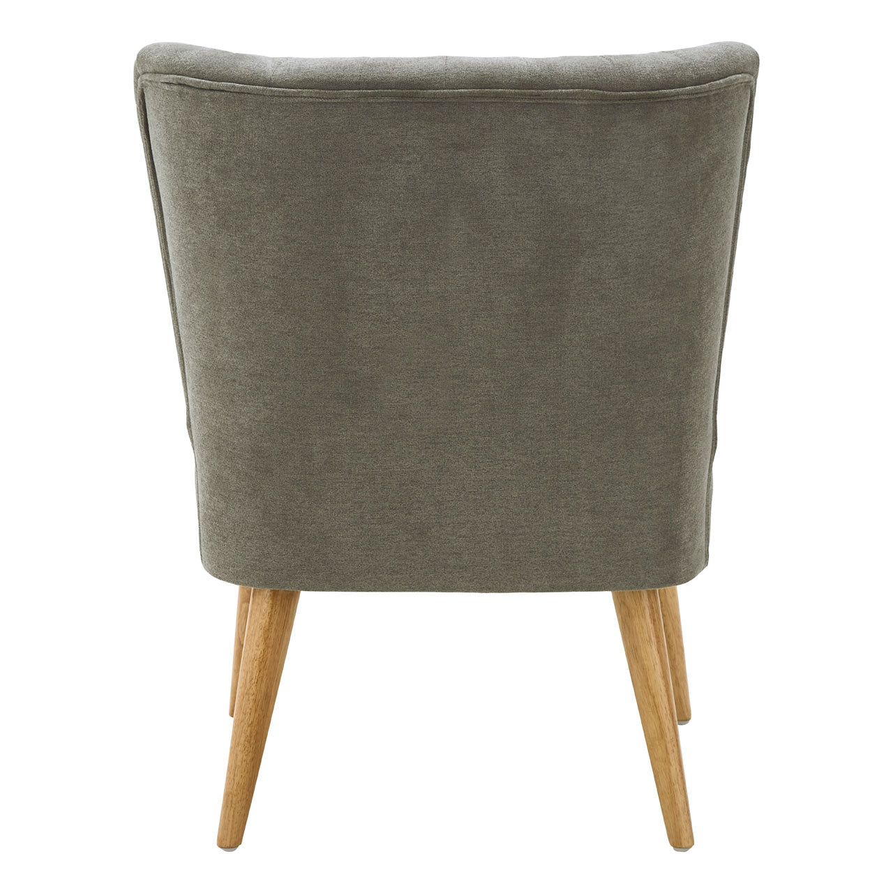 Geneva Wingback Chair in Grey - Ezzo