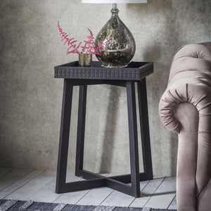 Greenwich Bedside Table in Matt Charcoal