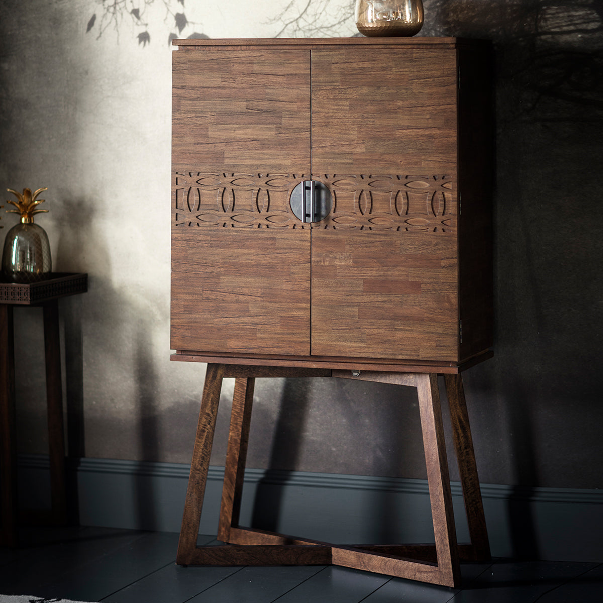 Greenwich Cocktail Cabinet in Natural