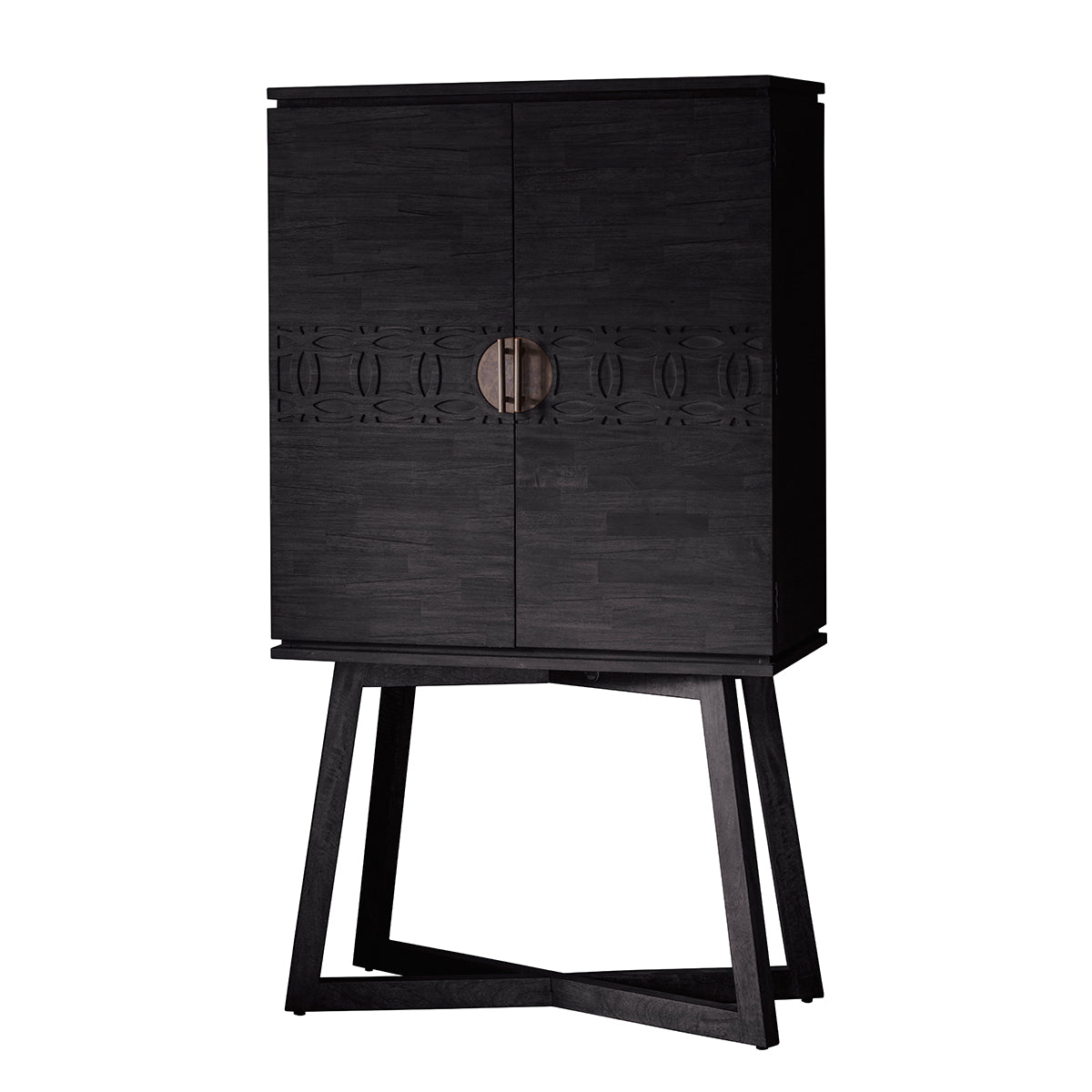 Greenwich Cocktail Cabinet in Matt Charcoal